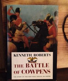 A personal favorite from my Etsy shop https://www.etsy.com/listing/248717163/the-battle-of-cowpens-by-kenneth-roberts