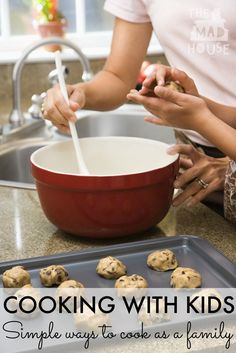 Give your children skills that will last a lifetime with these super tips. Get your kids in the kitchen with these tips for families