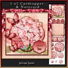 Cardtopper Lilac Pink 281 - CUP616413_2166 | Craftsuprint