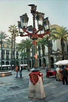 Barcelona - Plaça Reial - Farola Plaza Real