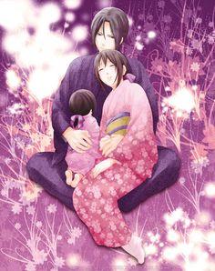 Hakuouki Shinsengumi Kitan, Yukimura Chizuru & Hijikata Toshizou Family