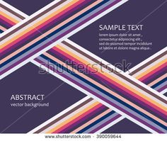 Abstract vector background. Abstract background with multi-colored stripes for modern design.