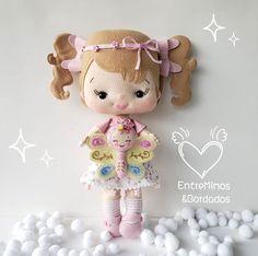Personalized Gifts For Kids, Felt Dolls, Hello Kitty, Teddy Bear, Children, Instagram, Stuffed Toy, 36, Inspiration