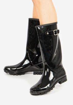 Cizme de cauciuc Zarate Negre Navy, Heels, Boots, Winter, Kids, Fashion, Hale Navy, Heel, Crotch Boots