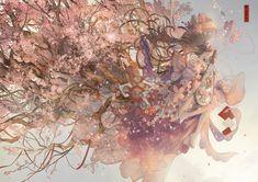 Art And Illustration, Character Illustration, Illustrations, Art Anime, Anime Kunst, Persona 5 Joker, Anime Group, Art Hub, Cherry Blossom Flowers