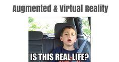 Augmented & Virtual Reality via Google Drive