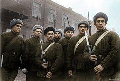 Soviet soldiers - World war 2 - Leningrad siege
