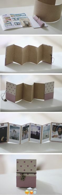 Crafty little photo album.