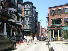 North End - Boston, MA (Cobblestone Streets Public Square)