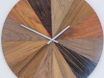 """Large hanging clock """"color palette"""". Ø 45 cm."""