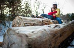 Céline ♥ Vinod - une séance engagement dans les montagnes enneigées d'Auvergne   Matthieu Maratet   Blog mariage La Mariée Sous Les Etoiles