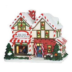 St. Nicholas Square Village Collection Holiday Chocolates
