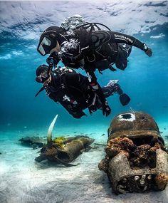 Tag a buddy diver! #BestScubaSpots: The Bahamas : @scubapro