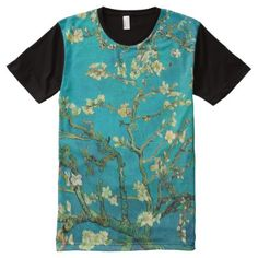 Vincent Van Gogh Blossoming Almond Tree Floral Art All-Over-Print T-Shirt - click/tap to personalize and buy