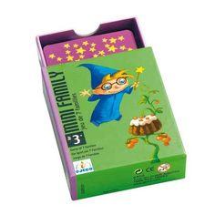 La garantie de règles connues et simples, associées à un graphisme exceptionnel et plein d'humour : ces jeux de cartes s'adressent aux petits... pour jouer avec les grands !