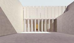 Danteum 6 (digital reconstruction) - Terragni