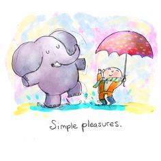 Simple Pleasures - Art: Molly Hahn