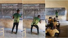 "kwasi gyamfi asiedu,""The story behind the viral photo of a teacher in Ghana showing students Windows on a blackboard"""