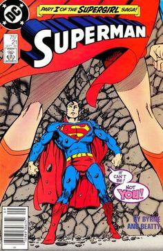 Superman 21 dc Comic book covers Part 1 Supergirl Saga Dc Comic Books, Vintage Comic Books, Comic Book Covers, Vintage Comics, Comic Book Heroes, Dc Heroes, Marvel Dc, Marvel Comics, Superman Comic