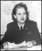 Jackie Cochran, one of America's leading aviators, headed the Women Airforce Service Pilots (WASP) program during World War II.