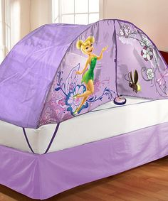 Take a look at this Fairies Bed Tent by Disney on #zulily today!