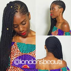 Feeding Cornrows with Single Plaits-London's Beautii-Bowie Maryland-hairstylist-natural hair-protective style-Amma Mama Black Girl Braids, Girls Braids, Plaits Hairstyles, Black Girls Hairstyles, Beyonce, Single Plaits, Plait Braid, Faded Hair, African Braids