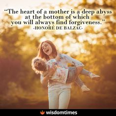 """""""I will protect you until you're grown, and then I will let you fly free. But loving you, that is for always.""""  #motherhood #mothers #moms #mommy #parent #parenting #family #children #son #daughter #WisdomTimes"""