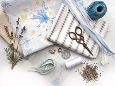 To celebrate the launch of our new season fabrics, we're showing everyone how to create their own DIY lavender sachets. Diy Lavender Bags, Lavender Crafts, Lavender Sachets, Fabric Cards, Fabric Gifts, Ashley Store, Scented Sachets, Candle Craft, Fabric Scissors