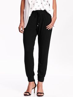 Women's Cuffed Soft Pants Size medium