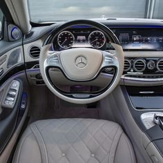 Mercedes Benz Maybach S600 interior