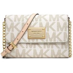 michael kors jet set crossbody white
