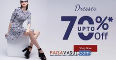 Shoppersstop Offers: Upto 70% off on Women's Dresses  http://www.paisavasul.com/code/shoppersstop-offers-upto-70-off-on-womens-dresses  PaisaVasul.com Shoppers Stop ‪#‎paytm‬ ‪#‎deal‬ ‪#‎deals‬ ‪#‎discount‬ ‪#‎discounts‬ ‪#‎offer‬ ‪#‎offers‬ ‪#‎cashback‬ ‪#‎cashbackoffers‬ ‪#‎promocode‬ ‪#‎promocodes‬ ‪#‎coupons‬ ‪#‎couponcodes‬ ‪#‎paisavasul‬ ‪#‎shoppersstop‬ ‪#‎womensfashion‬ ‪#‎fashino‬ ‪#‎dresses‬