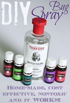 Spray This DIY bug spray is super easy to make and it WORKS! Great for kids tooThis DIY bug spray is super easy to make and it WORKS! Great for kids too Essential Oil Bug Spray, Yl Essential Oils, Young Living Essential Oils, Essential Oil Diffuser, Essential Oil Blends, Essential Oils Bug Repellant, Purification Essential Oil, Citronella Essential Oil, Bug Spray Recipe