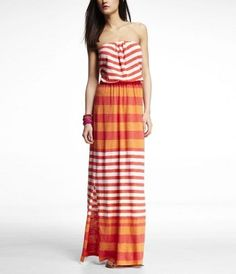 Maxi Dress by Express.  so cute!  I need some Maxi dresses this year!