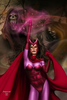 Scarlet Witch by Raymund Lee