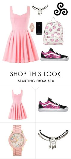 """""""Alpha. Beta. Omega."""" by kabylou ❤ liked on Polyvore featuring Vans, Aéropostale and Wet Seal"""