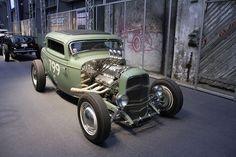 Ford Three Window Coupe Hot Rod - Kustoms Us