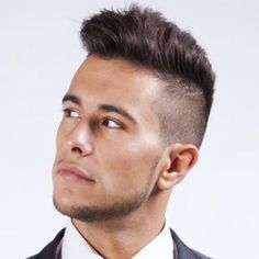 Slicked Back Undercut Hairstyle For Men