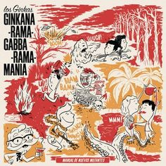 Los Ginkas - Ginkana-rama-gabba-rama-mania - LP