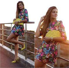 Choies Dress, Rebeca Sanver Heels http://marilynsclosetblog.blogspot.com.es/2013/09/magical-sunset.html