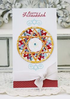 Mazel Tov Revisited - Happy Hanukkah Card by Melissa Phillips for Papertrey Ink (November 2012)