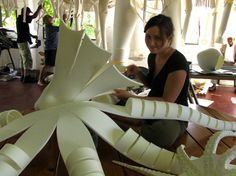 Building the Octopus Holidays Halloween, Halloween Party, Halloween Costumes, Carnival Costumes, Cool Costumes, Octopus Costume, Puppet Costume, Villain Costumes, Puppet Patterns