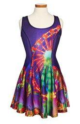 Zara Terez 'Carnival' Skater Dress (Big Girls)