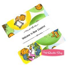 Welcome to Bear Country Charm Pack Berenstain Bears for Moda Fabrics