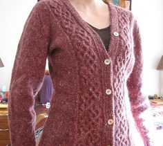 Vebjörg  by Elsebeth Lavold Published in Viking Patterns for Knitting   angora1 by Tired.Mom, via Flickr