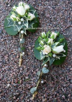 Rose boutonnière ~ Floristry Pirjo Koppi - Breast Flowers