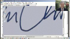 How to remove background from a scanned signature