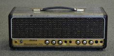 1963 SELMER BASSMASTER FIFTY 50 WATT GUITAR AMPLIFIER CROC SKIN TUBE AMP