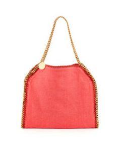 STELLA MCCARTNEY Falabella Linen Tote Bag