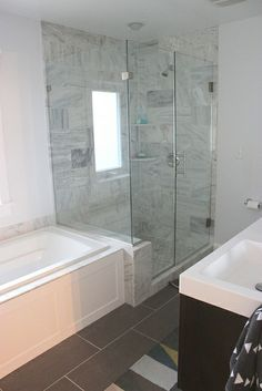 Master Bathroom Remodel by Home Coming (love the shower)